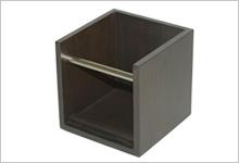 アクリル・スチールディスプレイ、木工製品制作例4