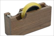 アクリル・スチールディスプレイ、木工製品制作例5